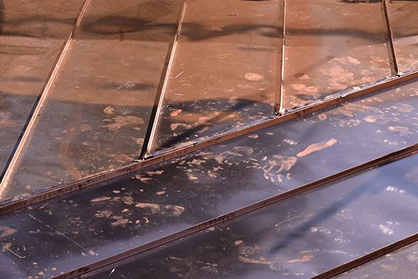 zinc and copper roofing