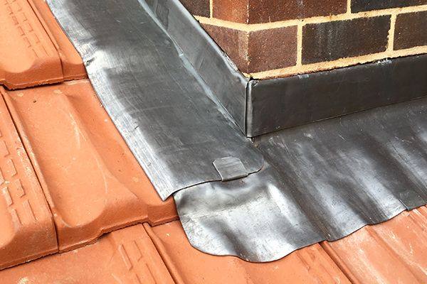 lead flashing and roofing